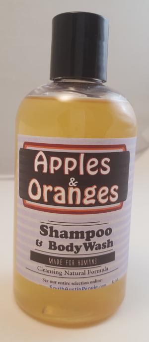 Apples and Oranges Shampoo Body Wash 8oz