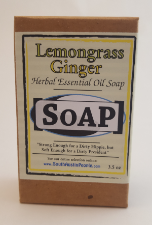 Lemongrass Ginger Bar SoAP