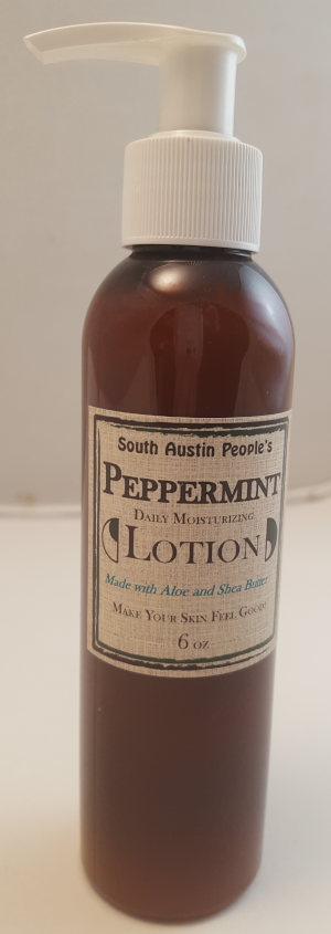 Peppermint Lotion 6oz
