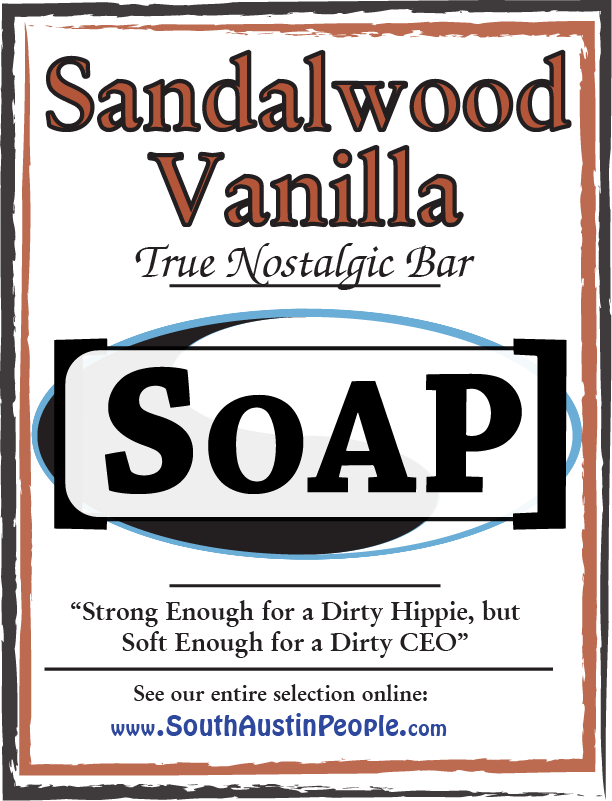 Sandalwood Vanilla Bar SoAP
