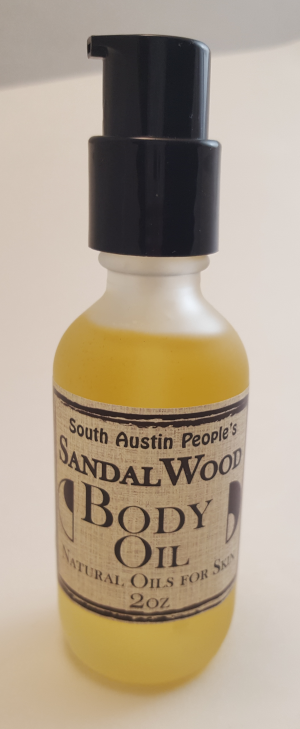 Sandalwood Body Oil - 2oz
