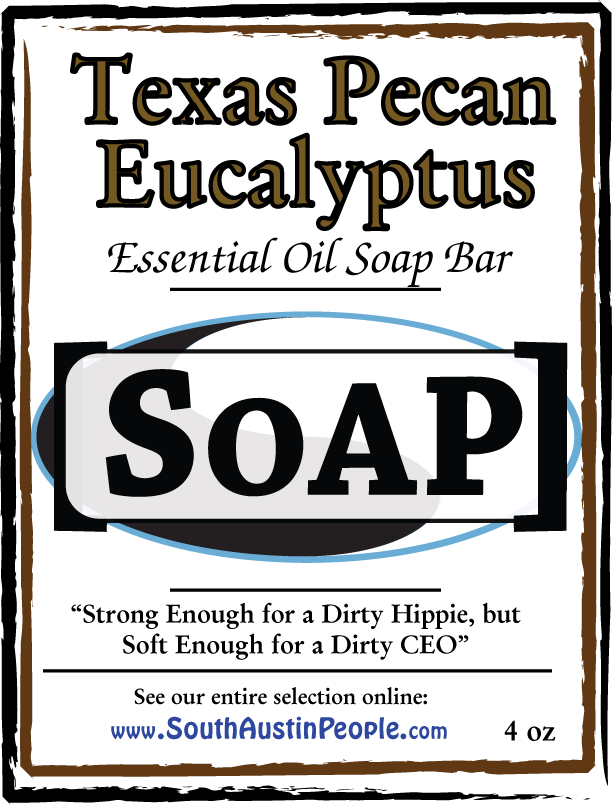 Texas Pecan Eucalyptus Bar SoAP