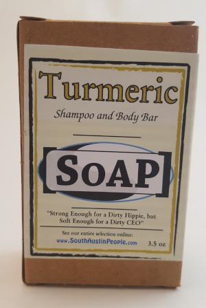 Turmeric Shampoo and Body Bar