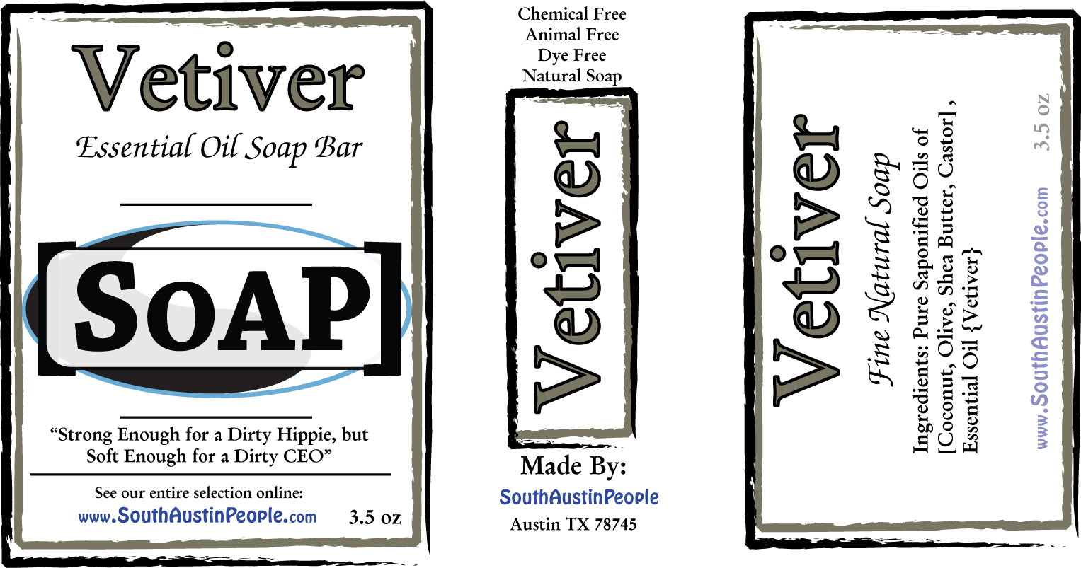 Vetiver SoAP Bar