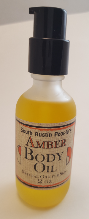Amber Sandalwood Body Oil -2oz