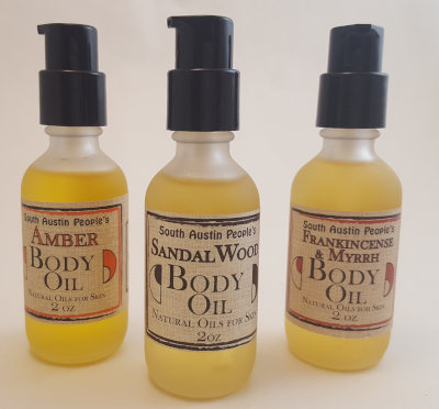 Patchouli Sandalwood Body Oil - 2oz