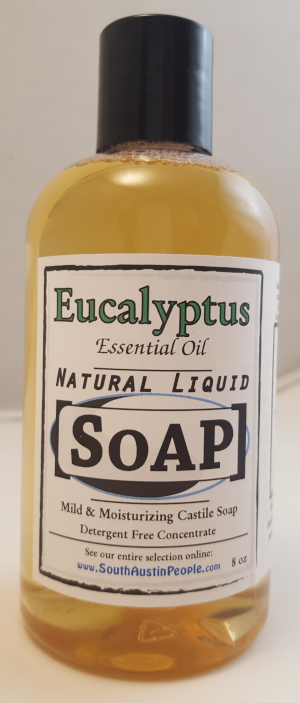 Eucalyptus Natural Liquid SoAP 8oz Concentrate