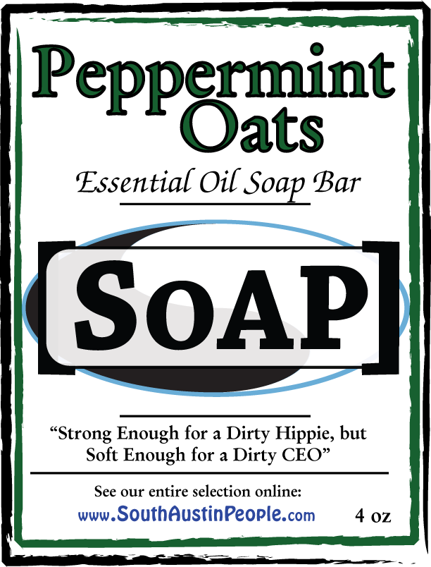 Peppermint Oats Bar SoAP
