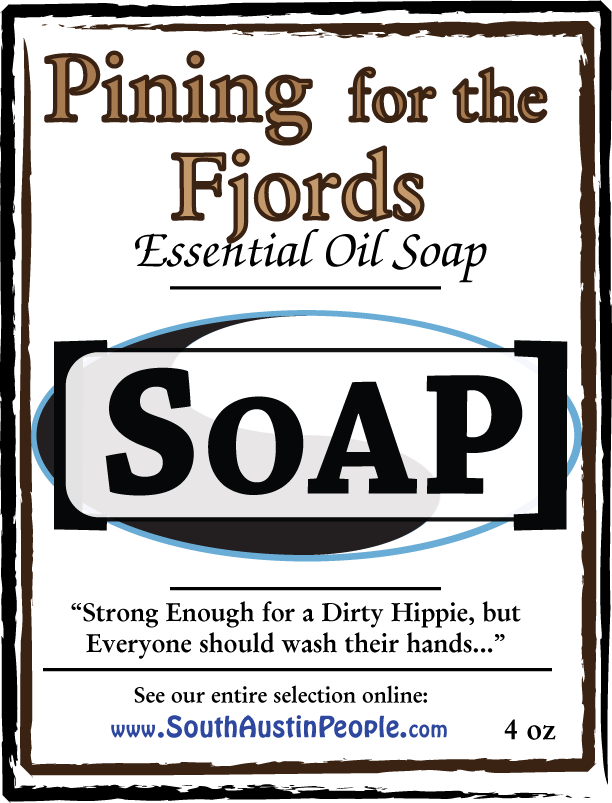 Pining for the Fjord essential oil SoAP bar