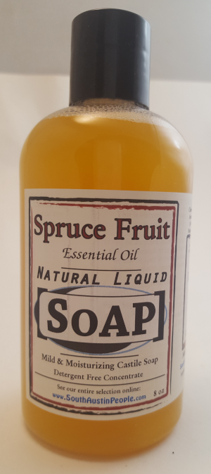 Spruce Fruit Natural Liquid SoAP 8oz Concentrate