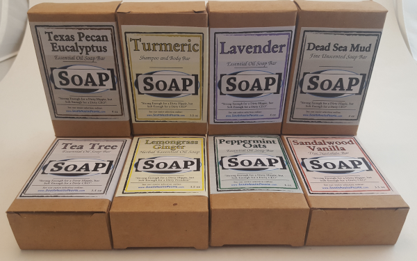 Labeled SoAP Bars